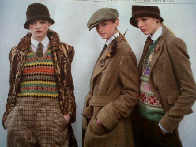 tweed, fairisle RLauren
