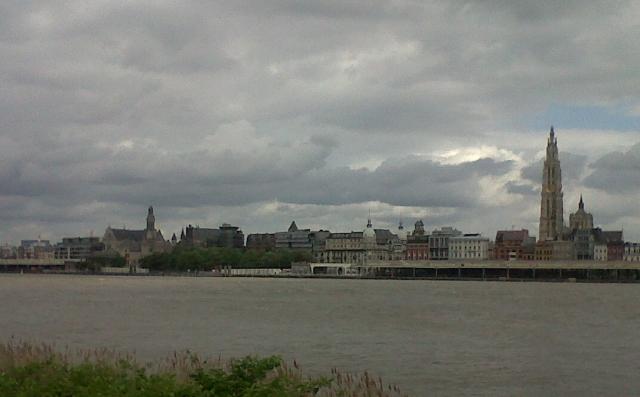 20130623 Antwerp skyline