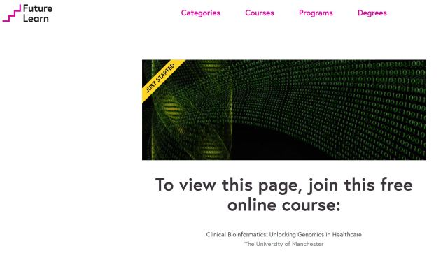 Course Clinical Bioinformatics